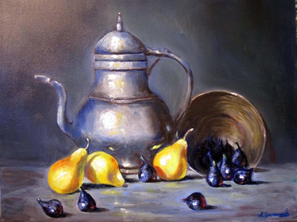 Oil on canvas 16x20''