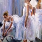 Ballerinas 24X18''