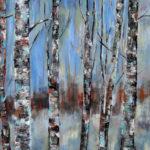 Blues oil on canvas 40''x30''
