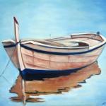 Dia calmado oil on canvas 16x20''