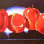 Manzanas Rojas - 4 (60X100cms)