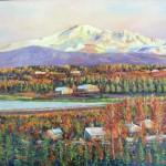 Mount Baker oil on canvas 24x30''