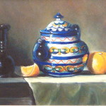 Talavera Tea Pot (12X16'')