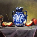 Talavera & apples oil on canvas 18x24''