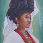 f-mujer de cuetzalan 14x11''